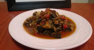 az yağlı patlıcan yemeği tarifi