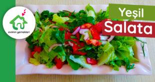 Yesil Salata nasıl yapılır
