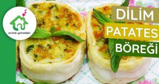 Dilim Patates Böreği