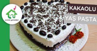 Kakaolu Yaş Pasta