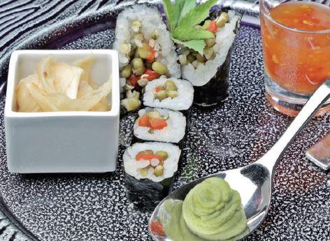Kurubaklagilli Karışık Sushi