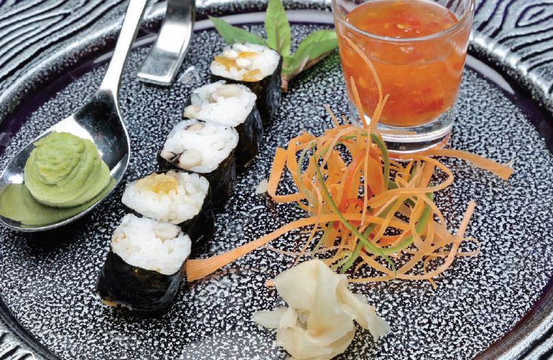 Maş Fasulyeli Sushi