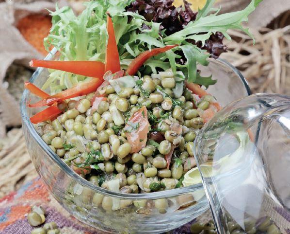 Maş-Fasulyesi- Salatası