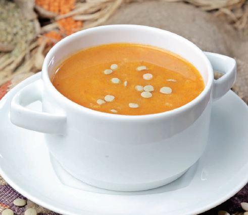 Yeşil Mercimekli Bulgur Çorbası