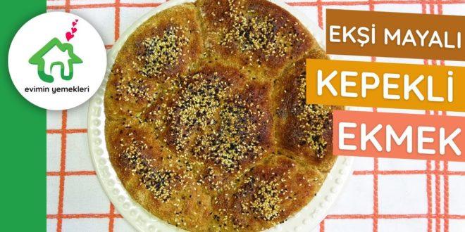 Ekşi Mayalı Kepekli Ekmek