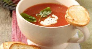 İtalyan Usulü Domates Çorbası