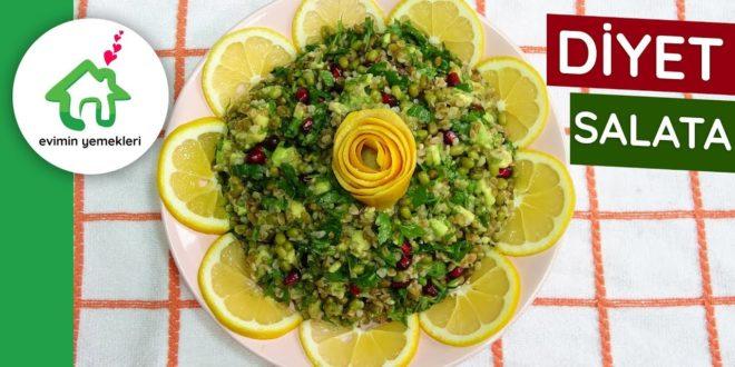 Avokadolu Diyet Salata
