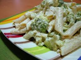 Brokoli Soslu Makarna