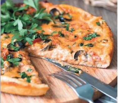 Deniz Ürünlü Pizza