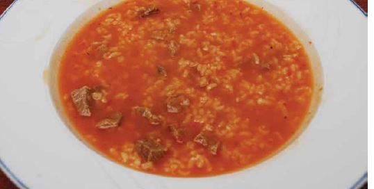 Etli Pirinçli Çorba