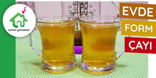 Evde Form Çayı