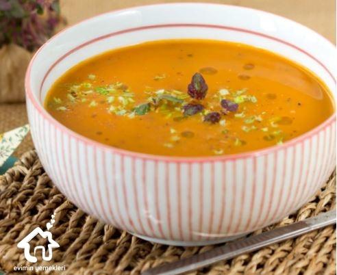 Hint Usulü Mercimek Çorbası
