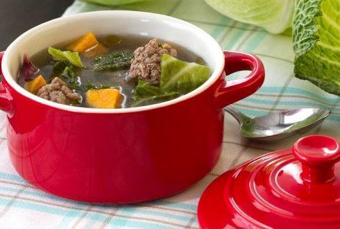 Lahana ve Köfte Çorbası