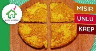 Mısır Unlu Glutensiz Krep