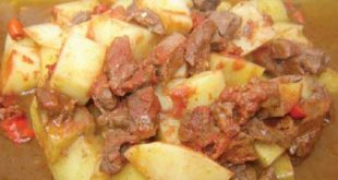 Patatesli Tas Kebabı