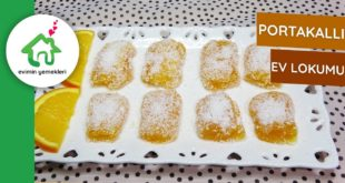 Portakallı Ev Lokumu