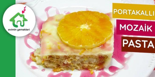 Portakallı Mozaik Pasta