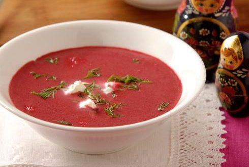 Taze Pancar Çorbası