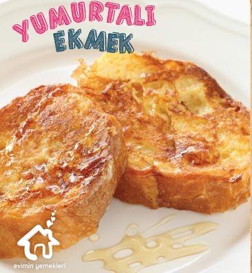 Yumurtalı Ekmek Tarifi