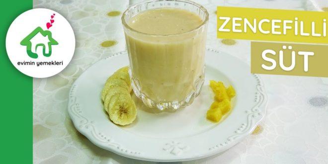 Zencefilli Süt