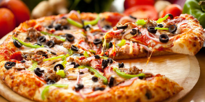 Zeytinli Pizza
