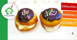 cikolatali-kremali-donut