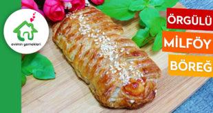Örgülü Milföy Böreği
