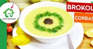 Brokoli Çorbası Tarifi