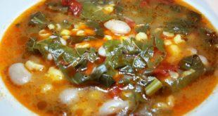 Sebzeli Kara Lahana Çorbası Tarifi