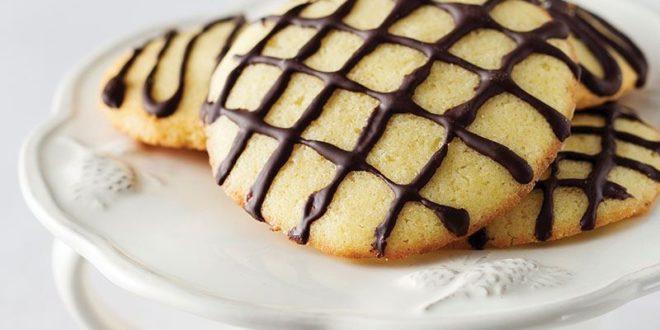 Çikolata Soslu Tarçınlı Kurabiye