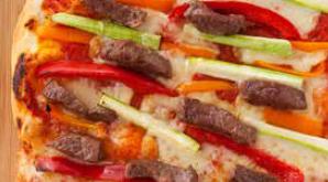 Etli Sebzeli Pizza Tarifi