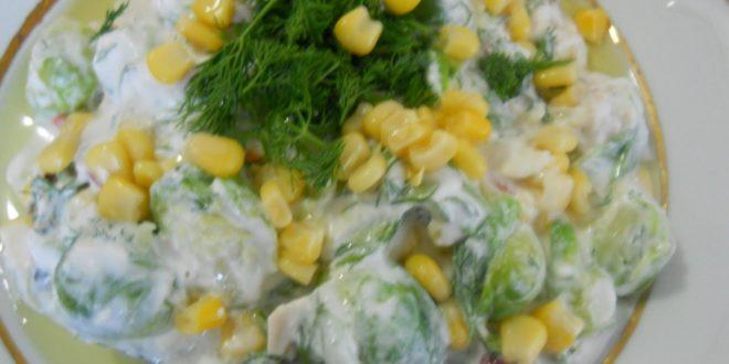 Brüksel Lahana Salatası