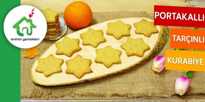 Portakallı Tarçınlı Kurabiye Tarifi