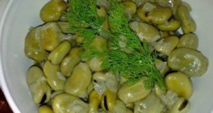 Yeşil Bakla Salatası