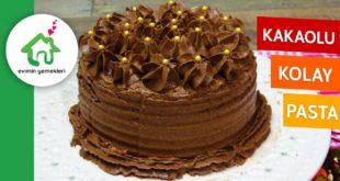 Kakaolu Kolay Yaş Pasta Tarifi