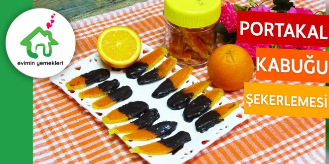 Portakal Kabuğu Şekerlemesi Tarifi