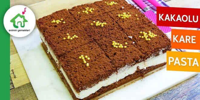 Kakaolu Yaş Pasta Tarifi