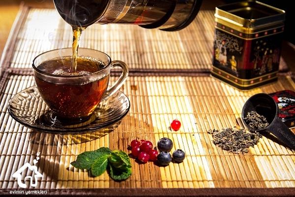 orman meyveli avokado çayı