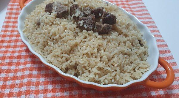 Etli Pirinç Pilavı Tarifi