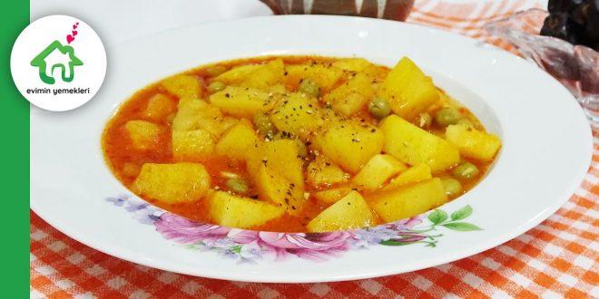 sarimsakli-bezelyeli-patates-tarifi