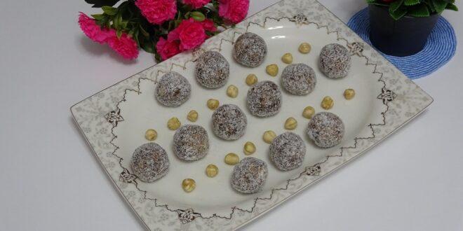 Diyet hurma topları tarifi