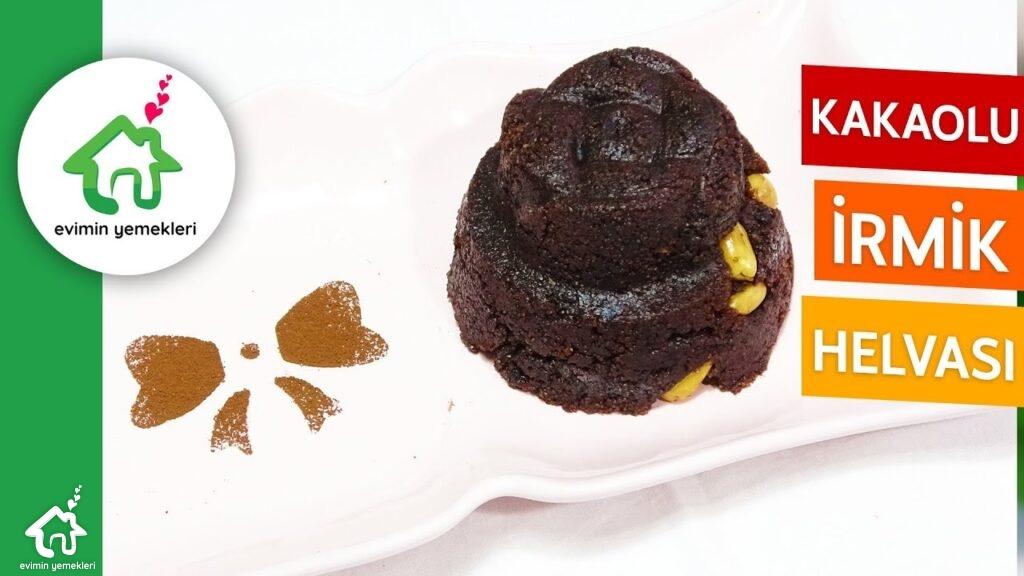 kakaolu irmik helvası