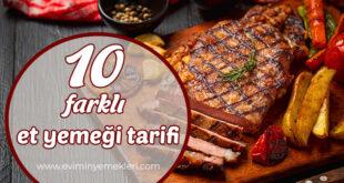 Et yemeği tarifleri