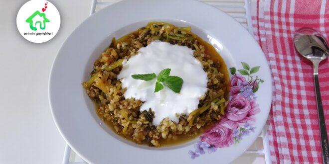 ekşili semizotu yemeği tarifi