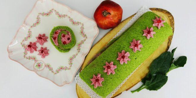 Renkli rulo kek tarifi