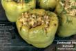 Zeytinyağlı peynirli biber dolması tarifi